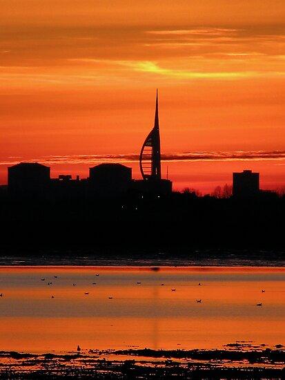 Sunset 4 11-12-07 by Sharon Perrett