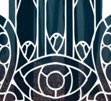 Dark Forest Hamsa Sticker