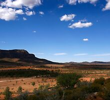 Flinders Ranges Outback Australia by jwwallace
