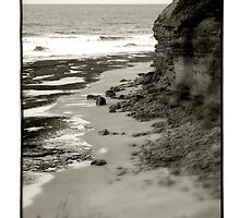 Bells Beach, VIC, Australia - B+W by Shannon Benson