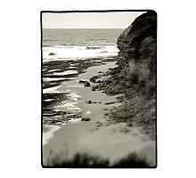 Bells Beach, VIC, Australia - B+W Photographic Print