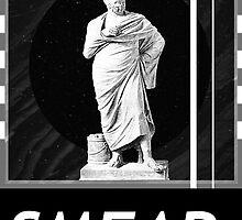 Greek Statue Modern Design - Smear Designs by smeardesigns