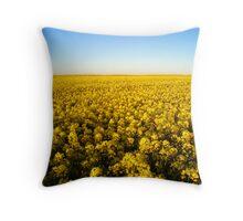 Fields of gold Throw Pillow