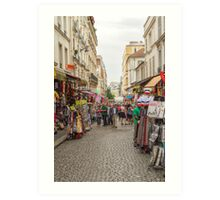 Montmartre, Paris, France Art Print