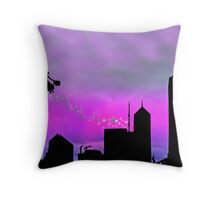 Mary Poppins is in Da' town Throw Pillow