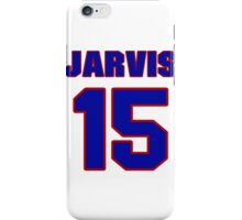 National Hockey player Wes Jarvis jersey 15 iPhone Case/Skin