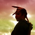 Native Sunset by Charles Butzin