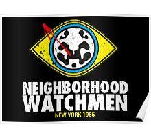 Neighborhood Watchmen Poster