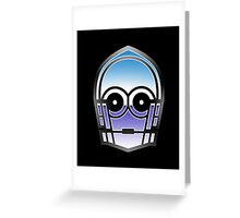Droid in Disguise Greeting Card