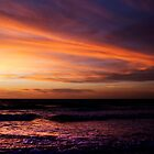 Reddell Beach sunset by John Holding