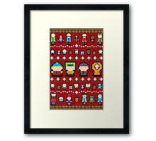 Sweater Park Framed Print