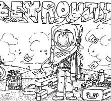 """""""Beirut"""" Illustration Shyle Zalewski by Eric Tchijakoff"""