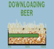 DOWNLOADING BEER by Cheryl Hall
