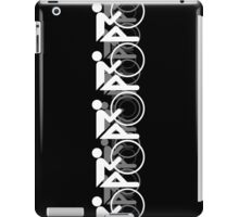 The Bicycle Race 2 White iPad Case/Skin