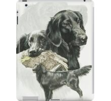 Flat-coated Retriever /Ghost iPad Case/Skin