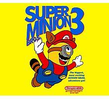Super Minion Bros 3 Photographic Print