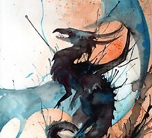 Blue Dragon by RubisFirenos