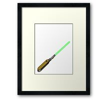 light-swiss-knife1 Framed Print