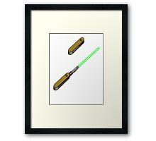 light-swiss-knife2 Framed Print