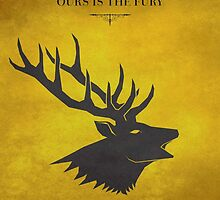House Baratheon - Game of Thrones by guillaume bachelier