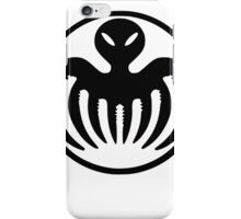 Black Spectre iPhone Case/Skin