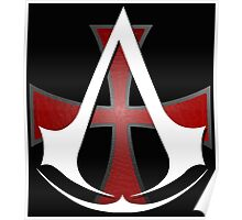 Assassins Creed Choose Your Allegiance Black  Poster