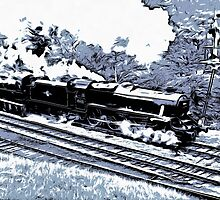 Scarborough Spa Express Graphic Novel by FuglyManorArt