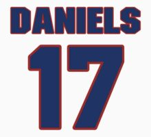 National Hockey player Jeff Daniels jersey 17 by imsport