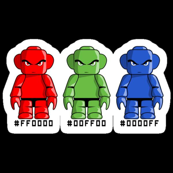 R, G and B redux by BigFatRobot