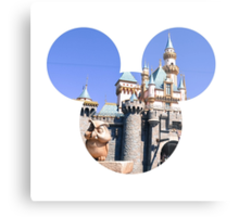 Disneyland Castle Mickey Metal Print