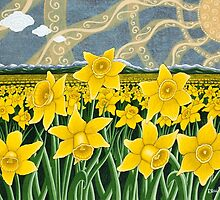 Daffodil Field  by JakeHose
