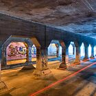 Out Of Reach - Krog Street Tunnel in Atlanta by Mark Tisdale