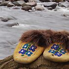 walk a mile in our moccasins by Charles Butzin