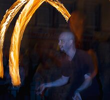Fire Dancer II by Chris Clark