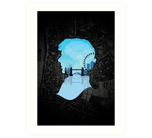 Sherlock's London Art Print