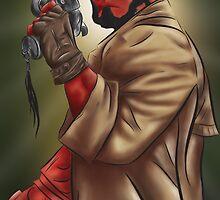 Hellboy with Good Samaritan by Hannah  Park