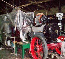 steam engine by Ann Macdonald