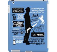 Sam Winchester Quotes iPad Case/Skin
