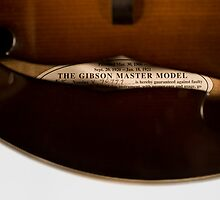 The Loar According to Derrington - Master Model Label by Paul Thompson