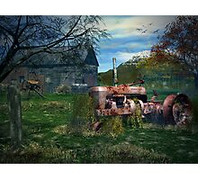 The Tractor Photographic Print