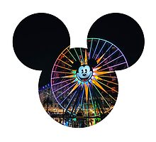 Fun Wheel Mickey by hilarydewitt