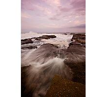 Bar Beach Rock Platform 9 Photographic Print