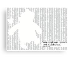 Pooh Bear Canvas Print