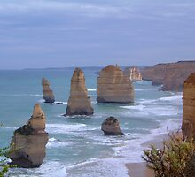 Survivors in Stone - Great Ocean Road, Victoria Australia by Philip Johnson