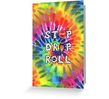 Stop Drop Roll Greeting Card