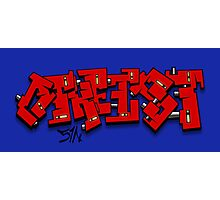 Graff Atheist Photographic Print