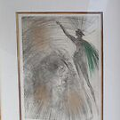 Salvador Dali's etching with a certificate of authenticity by murochka13
