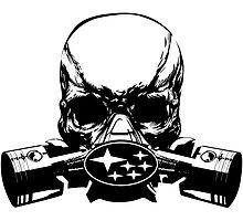 Subie Skull Mask by GeigerHansen