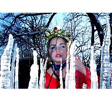Forest Princess Photographic Print
