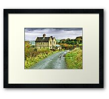 Water House near Darwen, Lancashire Framed Print